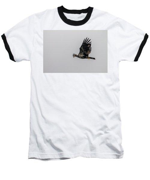 Young Eagle In Flight 07 Baseball T-Shirt