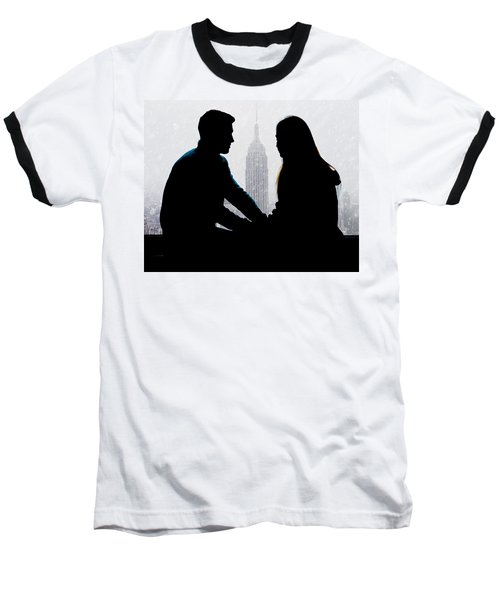 Baseball T-Shirt featuring the photograph Young Love     by Chris Lord