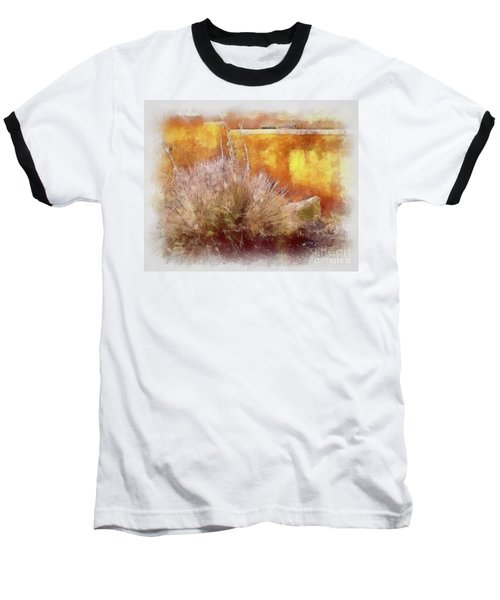 Yucca And Adobe In Aquarelle Baseball T-Shirt