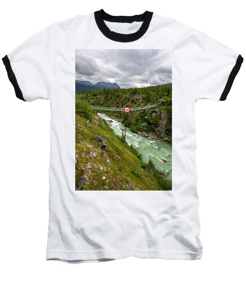 Yukon Suspension Bridge Baseball T-Shirt