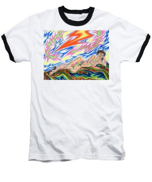 Zapped Baseball T-Shirt by Robert SORENSEN
