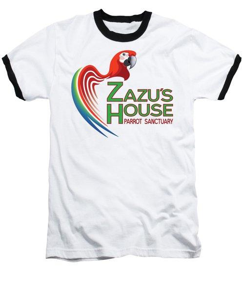 Zazu's House Parrot Sanctuary Baseball T-Shirt by Zazu's House Parrot Sanctuary