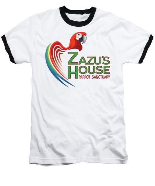 Zazu's House Parrot Sanctuary Baseball T-Shirt