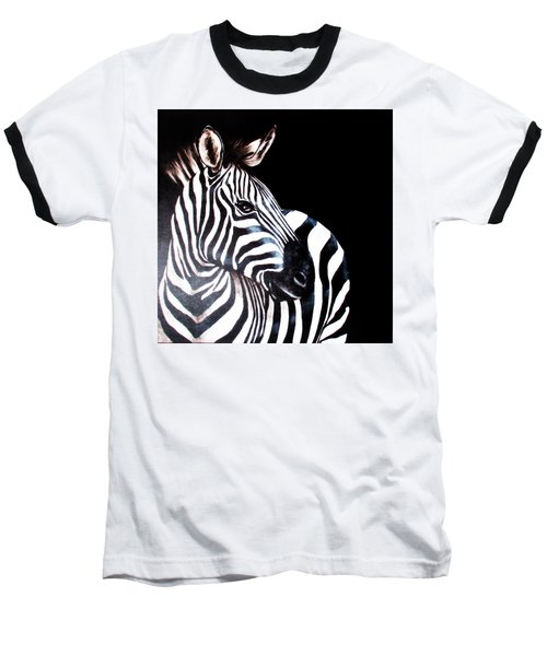 Zebra 2 Baseball T-Shirt