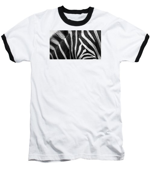 Zebra Stripes Baseball T-Shirt