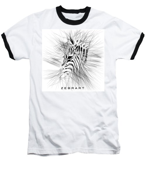 Zebrart Baseball T-Shirt