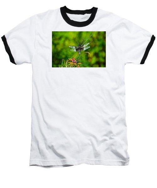 Zen Dragonfly 2 Baseball T-Shirt