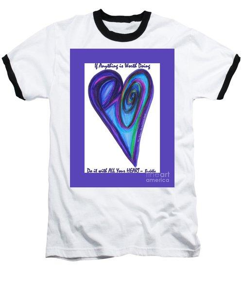 Zen Hearts Eclipse Eve Baseball T-Shirt