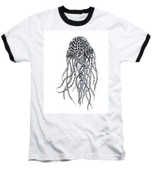 Zen Jellyfish Baseball T-Shirt