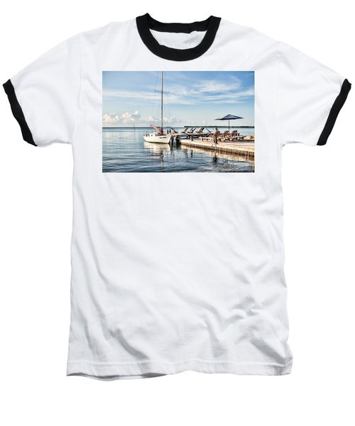 Baseball T-Shirt featuring the photograph Zen Say by Lawrence Burry