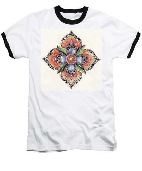 Zendala Template #1 Baseball T-Shirt