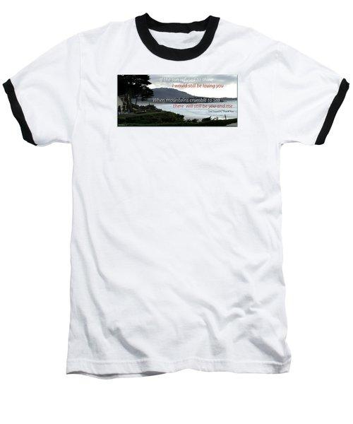 Zeppelin Gratitude Baseball T-Shirt by David Norman