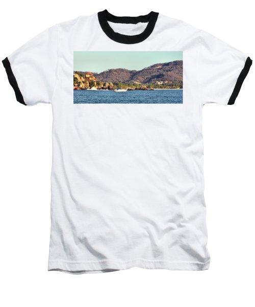 Zihuatanejo Bay Baseball T-Shirt