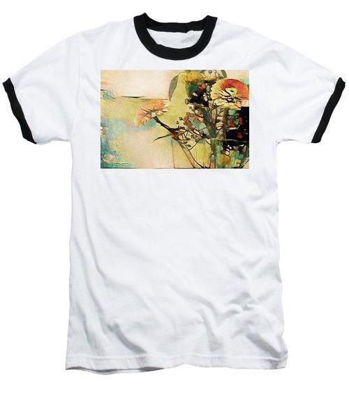 Zinnias From The Garden Baseball T-Shirt