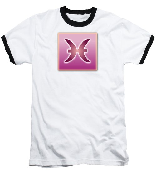 Pisces Sun Sign Astrology  Baseball T-Shirt