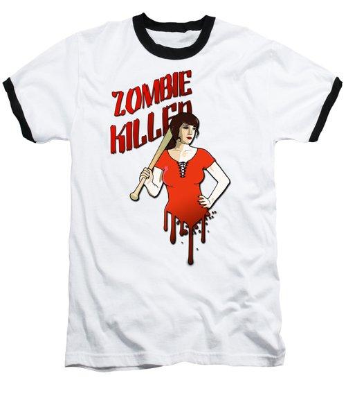 Zombie Killer Baseball T-Shirt