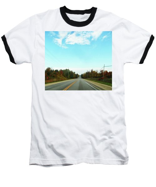 Collingwood In The Distance Baseball T-Shirt