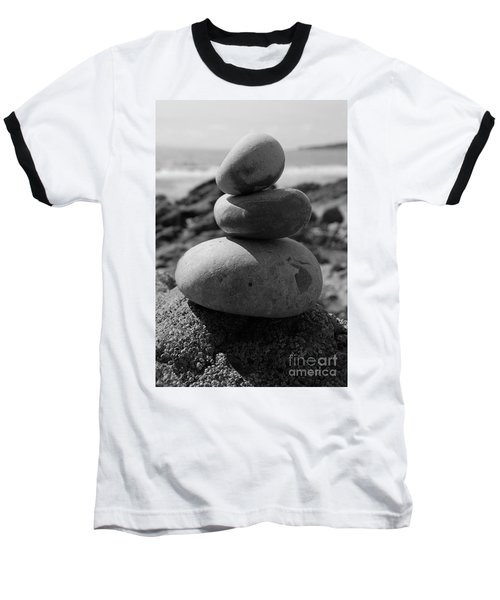 Fine Art - Pebbles Baseball T-Shirt