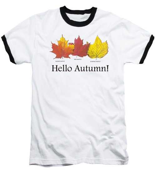 Hello Autumn Baseball T-Shirt
