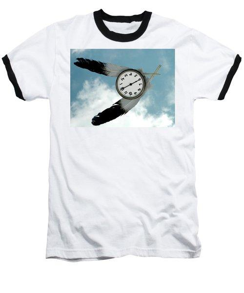 How Time Flies Baseball T-Shirt