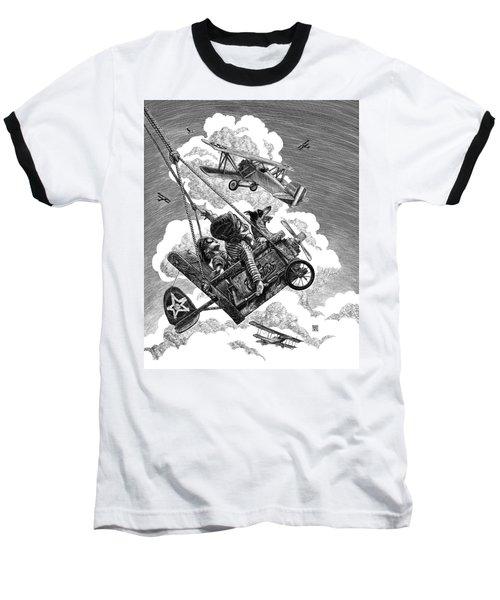 I Want To Fly Baseball T-Shirt