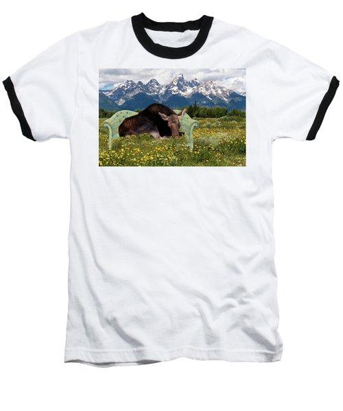 Nap Time In The Tetons Baseball T-Shirt