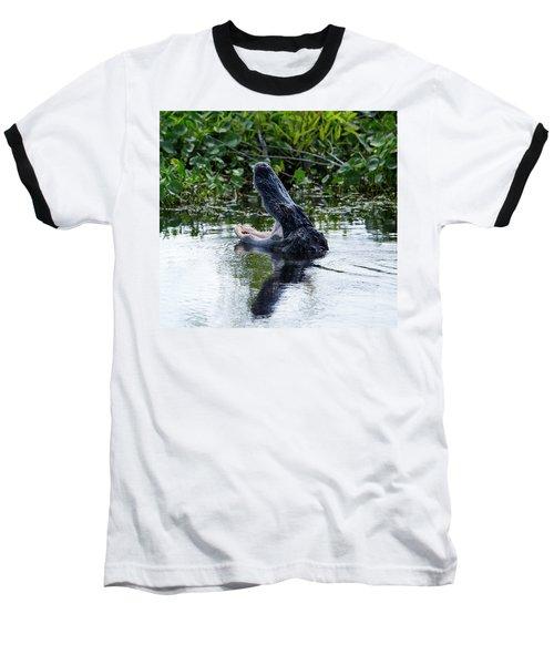 Open Wide Baseball T-Shirt