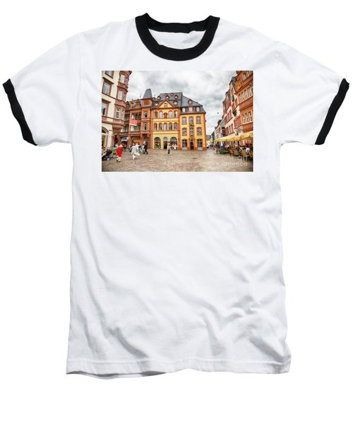Trier, Germany,  People By Market Day Baseball T-Shirt