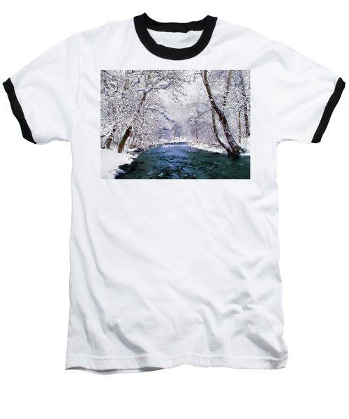 Winter White Baseball T-Shirt