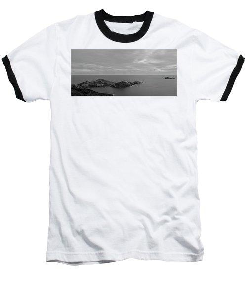Dawn In Black And White In The Cap De Creus Baseball T-Shirt