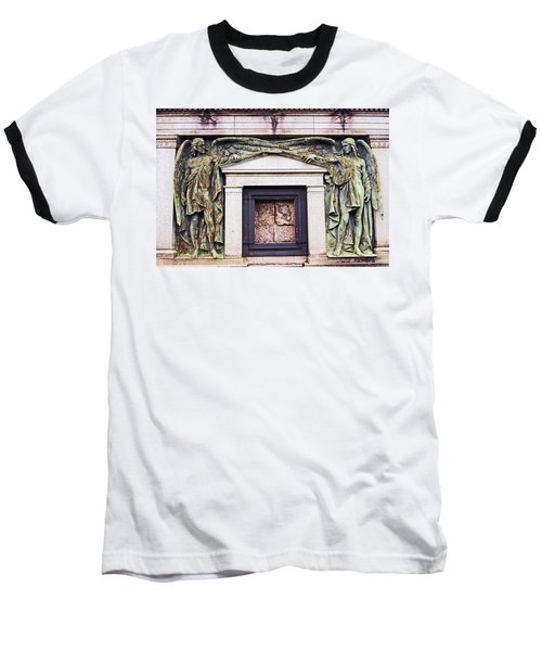 18/09/13 Glasgow. The Necropolis, Double Angels. Baseball T-Shirt