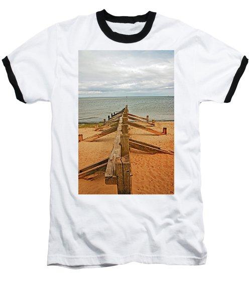 19/08/13 Edinburgh, Poetobello. The Shore And Groynes. Baseball T-Shirt