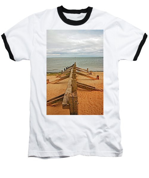 19/08/13 Edinburgh, Poetobello. The Shore And Groynes. Baseball T-Shirt