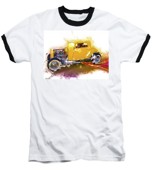 1932 Ford Hotrod Baseball T-Shirt