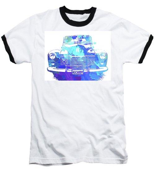 1941 Cadillac Front Abs Blue Baseball T-Shirt