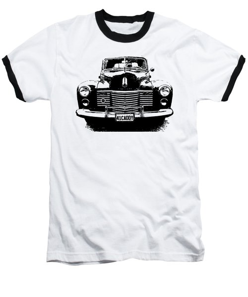 1941 Cadillac Front Blk Baseball T-Shirt