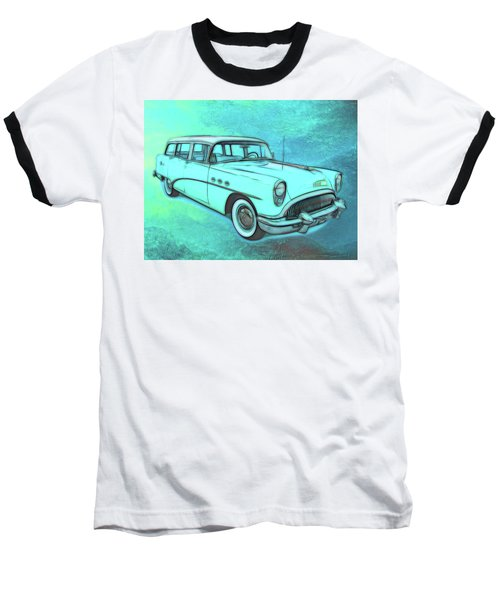 1954 Buick Wagon Baseball T-Shirt