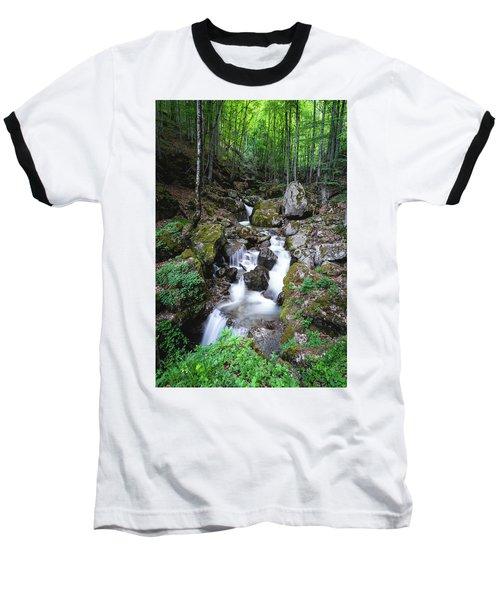 Bela River, Balkan Mountain Baseball T-Shirt