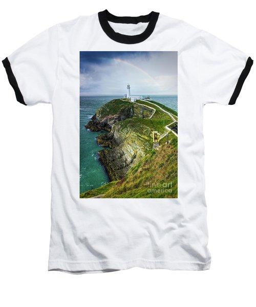 South Stack Lighthouse Baseball T-Shirt