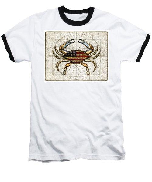 4th Of July Crab Baseball T-Shirt