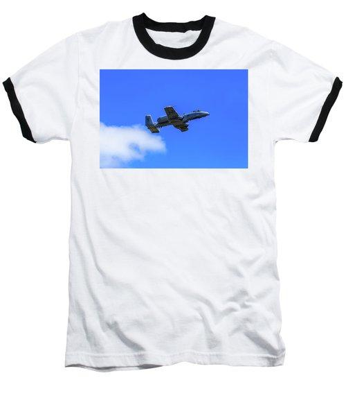 A-10c Thunderbolt II In Flight Baseball T-Shirt