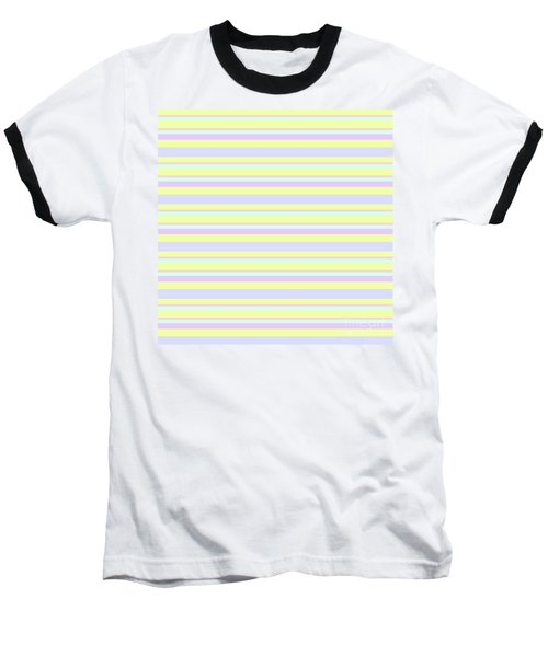 Abstract Horizontal Fresh Lines Background - Dde596 Baseball T-Shirt