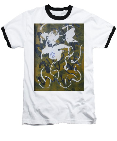 Abstract Human Figure Baseball T-Shirt