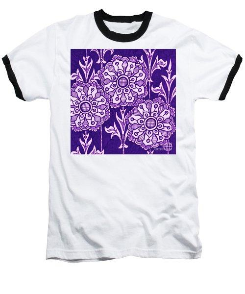 Alien Bloom 1 Baseball T-Shirt