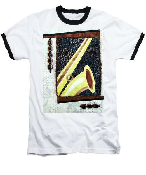 All That Jazz Saxophone Baseball T-Shirt
