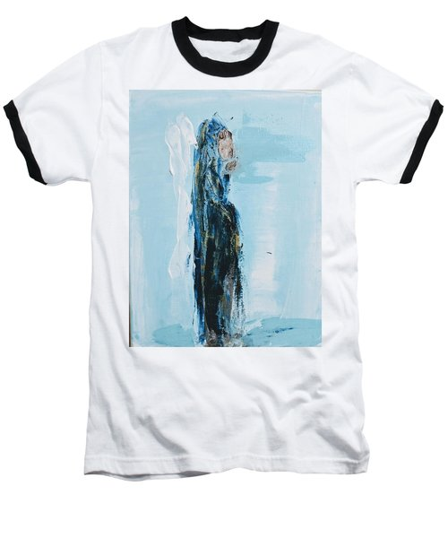 Angel With Child Baseball T-Shirt