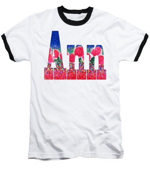 Ann Baseball T-Shirt