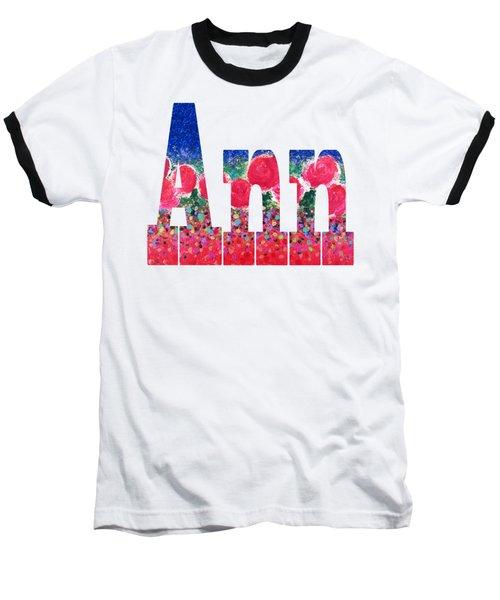 Ann Baseball T-Shirt