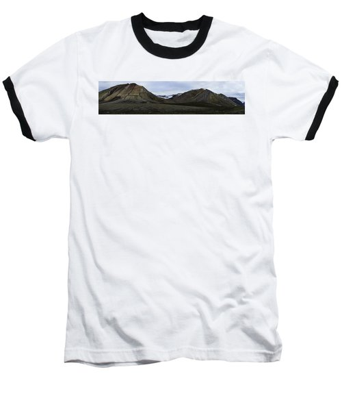 Arctic Mountain Landscape Baseball T-Shirt