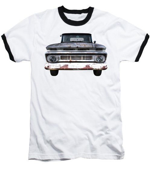 Rust And Proud - 62 Chevy Fleetside Baseball T-Shirt